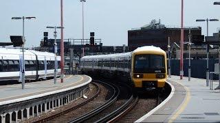 サウスイースタン クラス465 ロンドンブリッジ駅到着 Southeastern Class 465