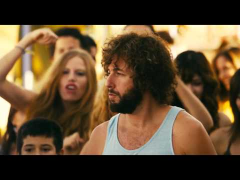 You Don't Mess With The Zohan 2008 Opening Funny Scene 特勤沙龍 開場好笑場景