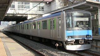 東武アーバンパークライン 南桜井駅 東武6000系