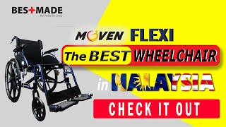 【Moven Flexi】 Best Wheelchair for Better Lifestyle