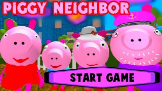PIGGY Neighbor Family Escape Obby House 3D [Level 4] Gameplay - Walkthrough - Android - IOS