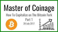 How To Capitalize on The Bitcoin Fork - Part 1   28 July 17