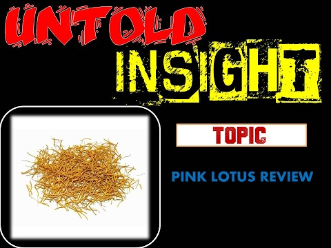 PINK LOTUS STAMENS REVIEW (herbal series) Nymphaea nelumbo