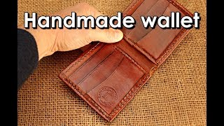 Download Making handmade Leather wallet folded edges Mp3 and Videos