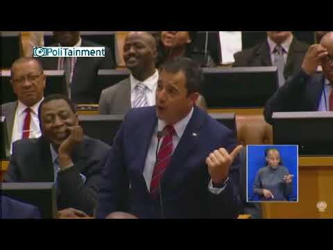 President Ramaphosa tells Steenhuisen to shut up in parliament