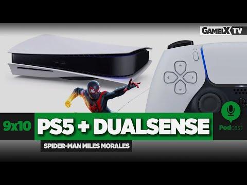 PlayStation 5, DualSense, y análisis Spider-man Miles Morales | Podcast | 9x10