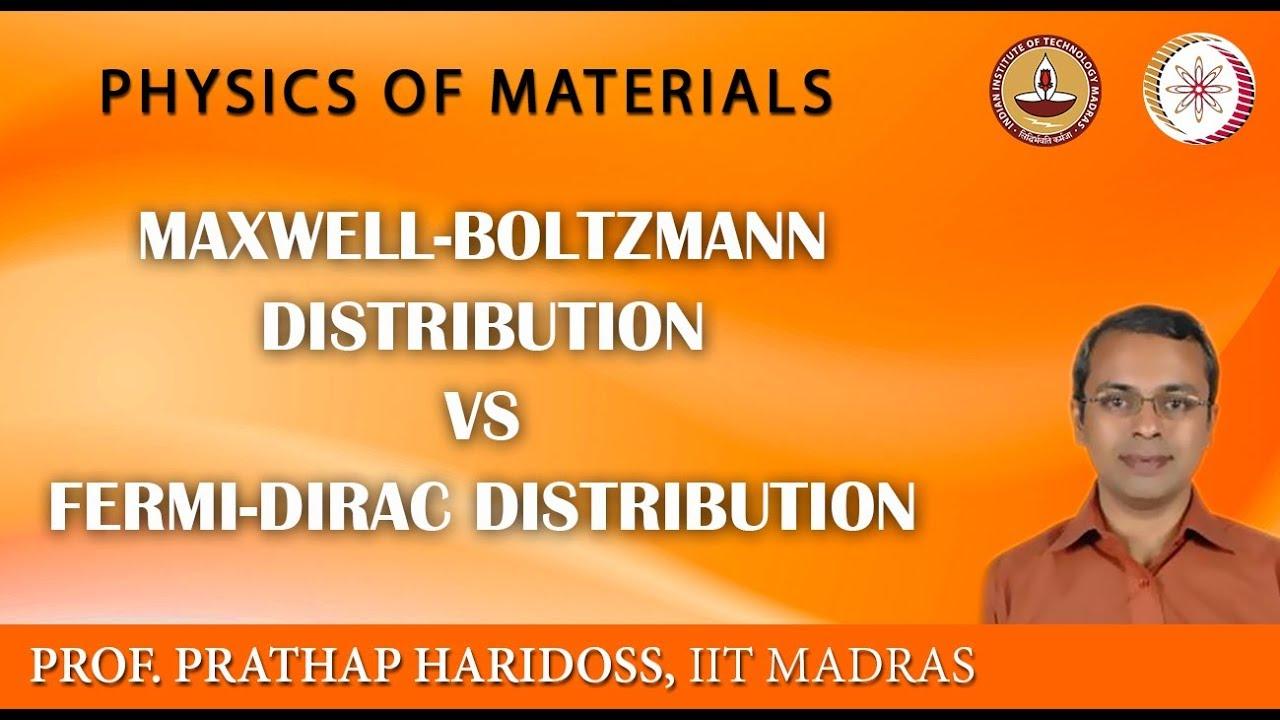 Maxwell-Boltzmann Distribution Vs Fermi-Dirac Distribution