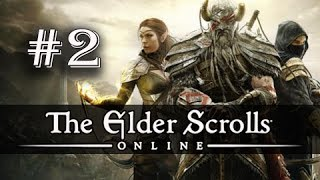 The Elder Scrolls Online Gameplay Walkthrough Part 2 - Delaying the Daggers (ESO PC Ultra)