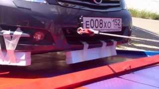 Hyundai HD с КМУ от РосКомАвто смотреть