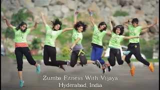 Zumba/Dance Fitness Routine By Vijaya /Gallan Goodiyaan/Dil Dhadakne Do