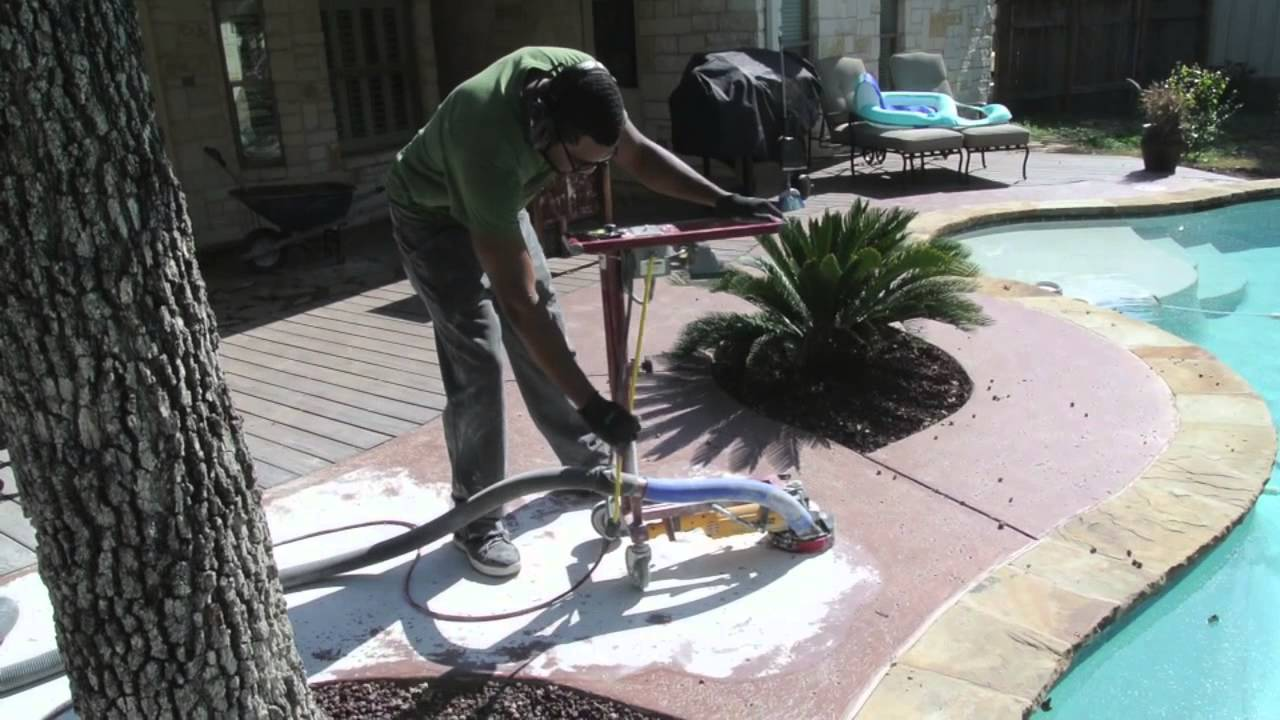 Removing Acid Stain From Concrete