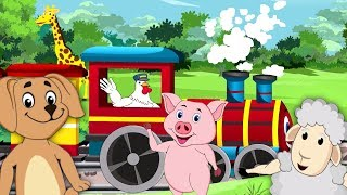 Farm Animal Express | Nursery Rhymes And Songs For Kids | Videos For Babies