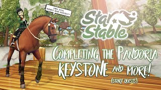 Completing the Pandoria Keystone & more! (Story Quests) | Star Stable Updates