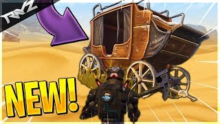 SECRET WILD WEST WAGON FOUND! WILD WEST LOCATION IN SEASON 5! (Fortnite: Battle Royale)
