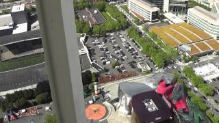 Seattle Space Needle Elevator Ride View & Observation Deck