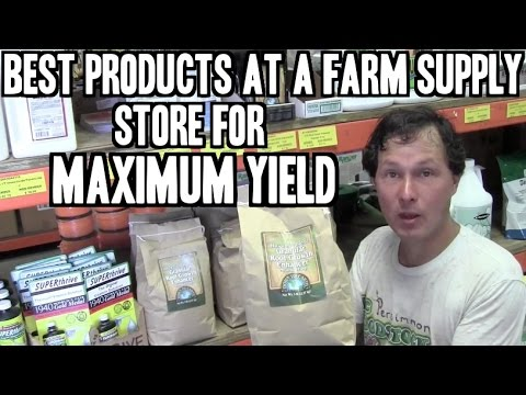 Best Products at a Farm Supply Store for Maximum Yield