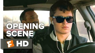 Baby Driver Opening Scene 2017  Movieclips Coming Soon