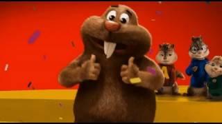 René la taupe - Alvin et les Chipmunks 3 - Rock la vie - Vidéo officielle - Version longue - HD
