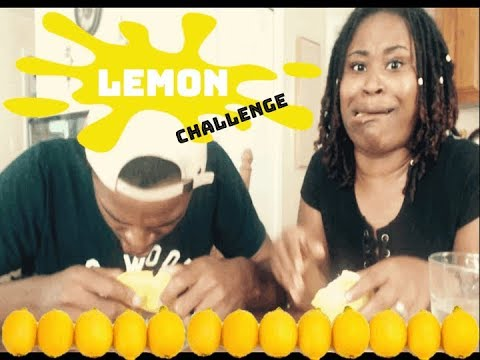Wife and Husband Does The Lemon Challenge(LOSER DRINKS BATH WATER?!)