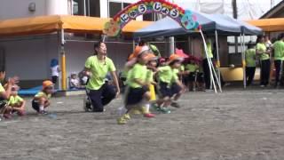 3歳 運動会 (シルームの長男)