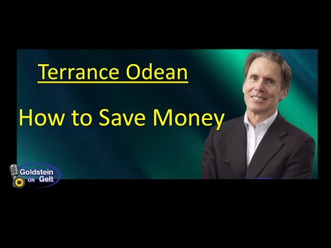 Terrance Odean – How to Save Money – interview – Goldstein on Gelt