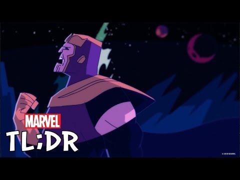 Thanos Rising | Marvel TL;DR
