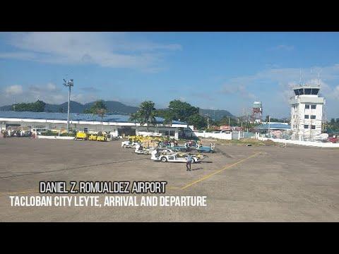 (Travel Vlog) Daniel Z. Romualdez Airport Tacloban City Leyte, Arrival And Departure