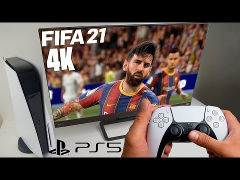 FIFA 21 Next Gen on PlayStation 5 - 4K 60FPS - First Impressions and Gameplay