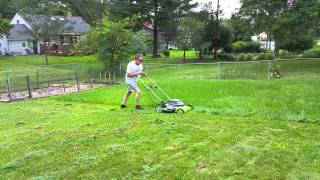 Greenworks 12 amp 20 inch Electric Mower