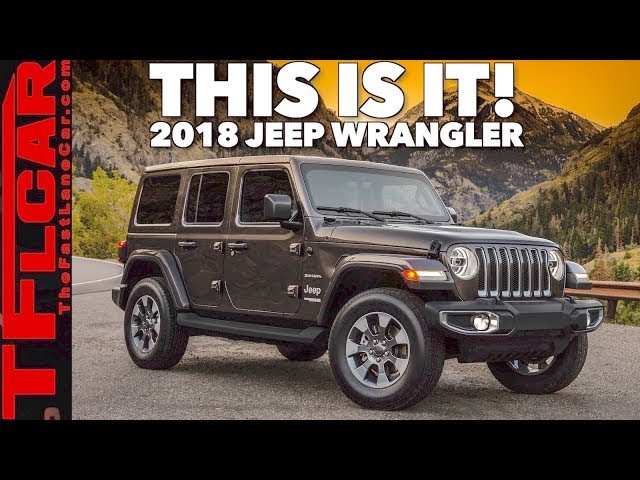 2018 Jeep Wrangler Jl Colors | Best new cars for 2018