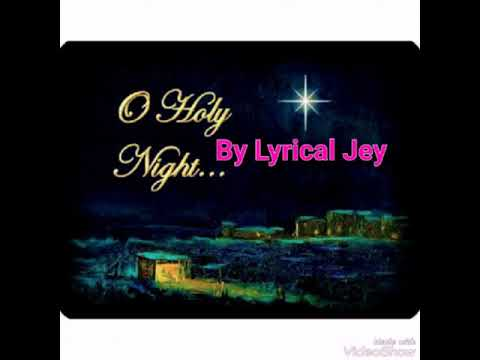 oh-holy-night-(audio)---lyrical-jey