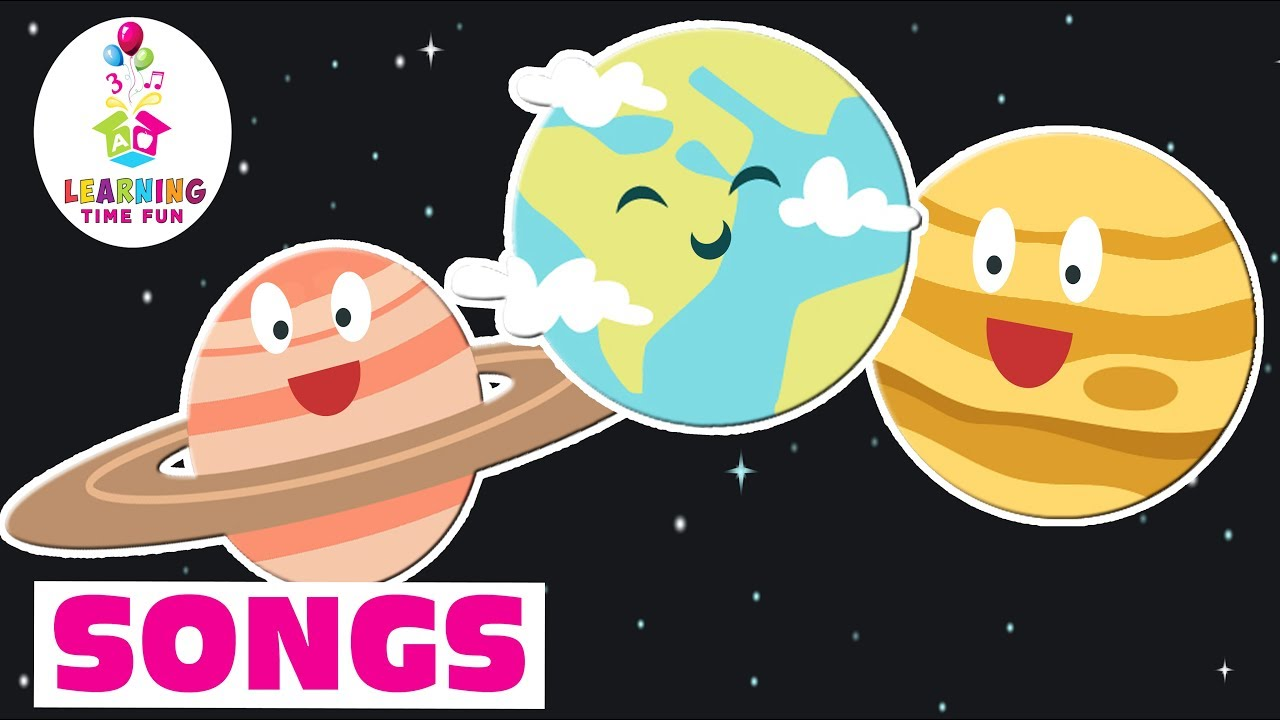 The Planets Lullaby   Kid's Learning Songs   Learning Time Fun   Planets for Kids Songs