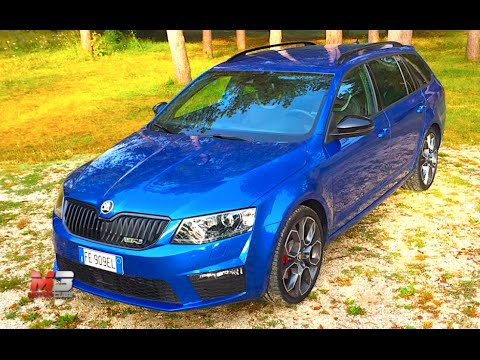 new skoda octavia wagon vrs 4x4 2017 first test drive only sound youtube. Black Bedroom Furniture Sets. Home Design Ideas