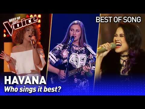 Camila Cabello's HAVANA in The Voice | Who sings it best? #1