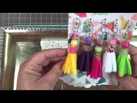 """""""Friend Mail Fun"""" ~ Episode 2 Crepe Paper Tassels"""