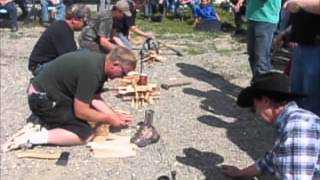 Fire Starting - Alberta Trappers - Water Boiling Competition