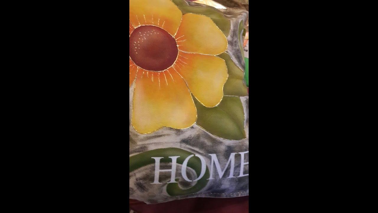 Como pintar almohadones pintura para tela herminia - Pinturas para pintar tela ...