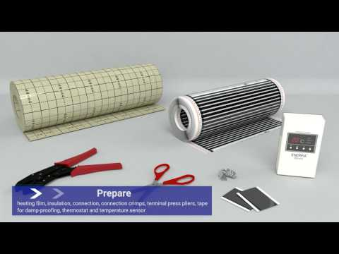 Floor Heating Film Kit
