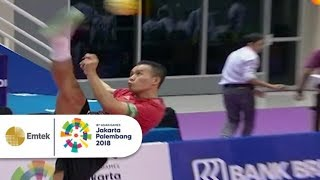 Highlight Sepak Takraw Putra - Indonesia vs Vietnam | Gelora Asian Games 2018