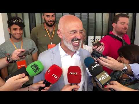 Javier Varga (Cs) vota este 26M