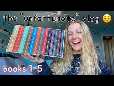 """Download reading """"A Series of Unfortunate Events"""" for the first time! 