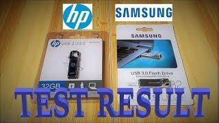 32GB Flash Drive TEST (HP & SAMSUNG)