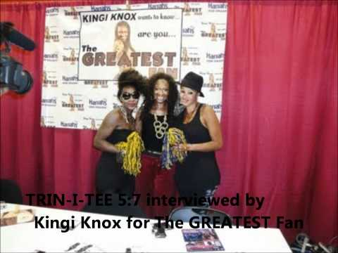 Trin-i-tee 5:7 interviewed by Kingi Knox for The GREATEST Fan