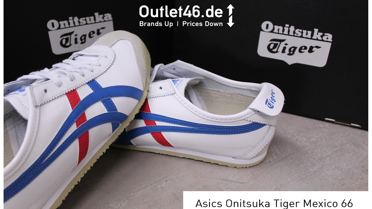 watch e1cf4 63dbb Asics Onitsuka Tiger Mexico 66 DEUTSCH Review l On Feet l Haul l Overview l  Outlet46