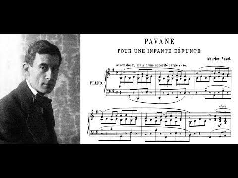 Maurice Ravel - Pavane pour une infante défunte (piano)