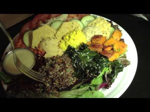 FoodTube.net, Vegan/Organic, Palm Greens Cafe, Palm Springs, CA