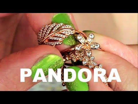 PANDORA ROSE  RINGS | Dazzling Daisy Ring | Light as a Feather Ring