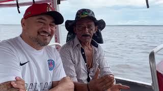 CHARLLES AND TIRINGA AT THE WATER MEETING IN MANAUS AMAZONAS - RIO NEGRO AND SOLIMÕES (PART 1)