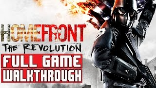 Homefront The Revolution Gameplay Walkthrough Part 1 FULL GAME (PS4 1080p) No Commentary