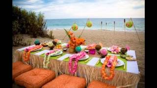Fascinating Luau party decorations ideas